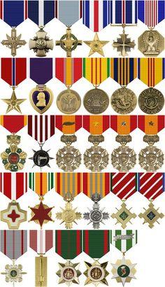 Veitnam Medals