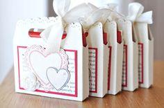 BeStempelt - zu zweit!: Täschchen mit Herz!