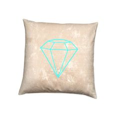 Pastel Pillow Neon Color Accent Throw Pillow by CSERASURFACEDESGN, $35.00 home-accessories