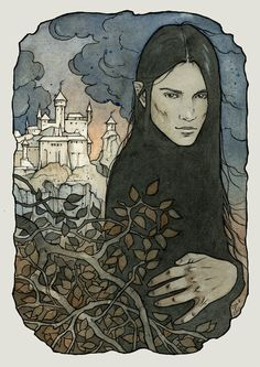Maeglin was an Elf, the son of Eöl the Dark Elf and Aredhel daughter of Fingolfin. He lived in the First Age of Middle-earth, and was a lord of Gondolin. Maeglin was considered to be the most wicked Elf ever to live in history, for his treason to Gondolin but more importantly for his willingness to serve Morgoth (originally out of fear, but later with fervour).