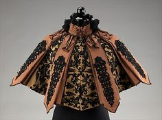 Cape by Emile Pingat, ca. 1895. Housed at the Costume Institute at The Metropolitan Museum of Art