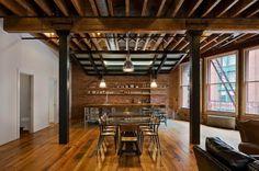 diseño de techos de madera para interiores
