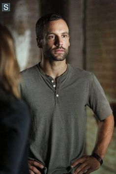 agent Lance Hunter (Nick Blood) AOS. He is took the number one space in my heart that X agent Grant Ward had until Ward went bad on us. Now Lance is fave agent now.