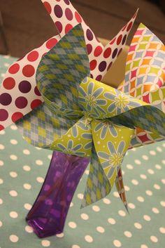 Handmade in the Heartland: Simple Centerpieces