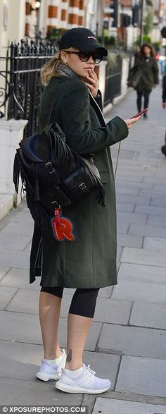 Flirt with fringing like Rita with a Saint Laurent backpack #DailyMail  Click 'Visit' to buy now