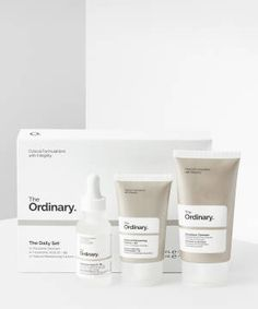 The Ordinary   BEAUTY BAY The Ordinary Gift Set, The Ordinary Squalane, Daily Set, The Ordinary Hyaluronic Acid, Cute Boyfriend Pictures, The Ordinary Skincare, Beauty Bay, Christmas Gift Guide, Skin Care
