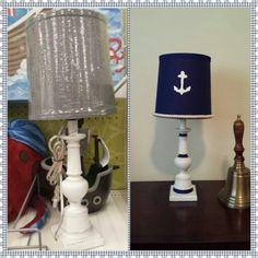 DIY Nautical lamp