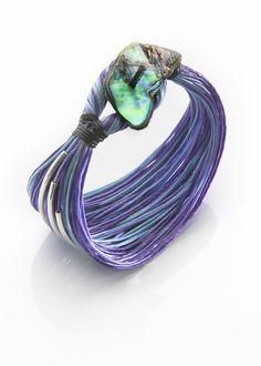 Purple Sea by mothjewelry on Etsy, $38.00
