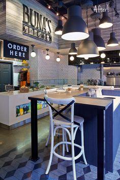 Buna's Kitchen Restaurant, Canada designed by Stacey Cohen