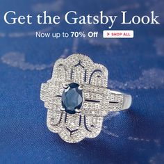 Love the jewelry in The Great Gatsby? Get the #Gatsby look for less! Up to 70% Off Modern #Vintage. >>Click on the pin to shop Vintage-Inspired jewelry on sale at Ross-Simons.