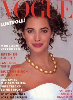 CHRISTY TURLINGTON: Vogue Germany 87'