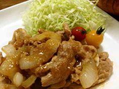 簡単+ご飯が進む♪ゴマみそ味の生姜焼きの画像