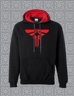 Black Firefly Pullover Hoodie - Inspired by The Last of Us  SOO MUCH WANT!!