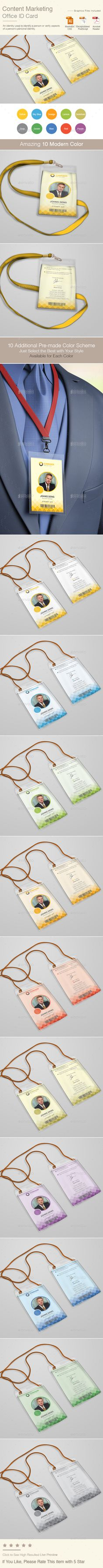 Content Marketing Office ID Card   Volume 2