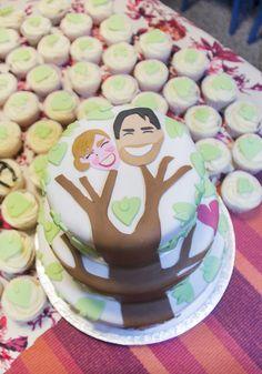 Zet gewoon je eigen hoofd op de taart! Everyone will love it! #bruidstaart #weddingcake Birthday Cake, Desserts, Food, Tailgate Desserts, Deserts, Birthday Cakes, Essen, Postres, Meals