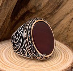 Mens Gemstone Rings, Sterling Silver Mens Rings, Silver Rings Handmade, 925 Silver, Mens Skull Rings, Silver Skull Ring, Silver Man, Unique Mens Rings, Rings For Men