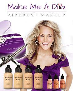 Make Me A Diva Starter Kit (Light to Medium) * You can get additional. Airbrush Makeup ...