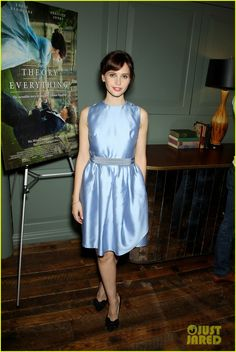 hugh jackman hosts screening for eddie redmayne theory of everything 03 Hugh Jackman stands with the stars of The Theory of Everything, Eddie Redmayne and Felicity Jones, while hosting a screening for the film at a private club on Tuesday…