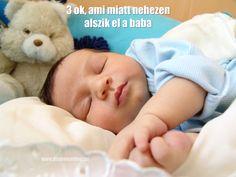 Miért nem alszik el a baba? 3 oka lehet: