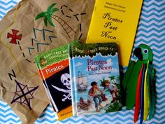 Pirates at Noon storytime crafts