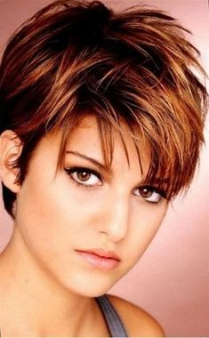 Look Over This Faces Shape Hairstyles Short Messy Hairstyles With Bangs For Square Faces Women Over 50 With Thin The post Faces Shape Hairstyles Short Messy Hairstyles With Bangs For Squar . Short Hair Cuts For Round Faces, Pixie Haircut For Thick Hair, Haircuts For Fine Hair, Round Face Haircuts, Short Hair With Layers, Cute Hairstyles For Short Hair, Hairstyles For Round Faces, Hairstyles Haircuts, Curly Hair Styles
