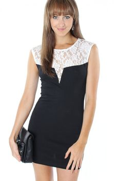 White Laced LBD! SALE ON SALE additional half off all sale items! code SALE50 #sophieandtrey #sale