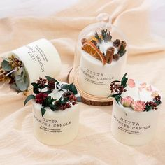 Natural Candles, Soy Wax Candles, Diy Unique Candles, Diy Candle Ideas, Aroma Candles, Diy Aromatherapy Candles, Homemade Scented Candles, Candle Art, Candle Making