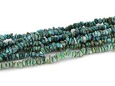 Diy Beaded Bracelets, Southwest Style, Strand Necklace, Turquoise Bracelet, Chips, Closure, Sterling Silver, Blue, Jewelry