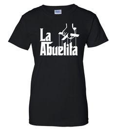 La Abuelita T-Shirt Men's Apparel Custom Apparel by ShopLintyCat