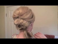 fancy side pony how-to!
