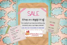 25% off All Party boxes, we sell complete party kits for birthdays, baby shower, divorce, bachelorette, religious celebrations www.quickpartybox.com