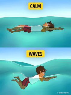 Δείτε ΤΙ πρέπει να κάνετε για να βγείτε Ζωντανοί, εάν χρειαστεί να Κολυμπήσετε σε Ανοιχτή Θάλασσα!  #χρήσιμα