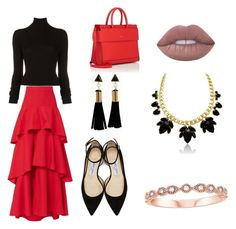 Designer Clothes, Shoes & Bags for Women Jimmy Choo, Givenchy, Stripes, Shoe Bag, Polyvore, Stuff To Buy, Accessories, Shopping, Collection