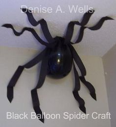 black balloon spider