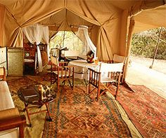 Cottar's 1920s Safari Camp, Kenya (Rugs, drapery for decor..)