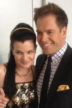 Twitter / M_Weatherly: Making sweet #ncis promos for ... with Pauley. 8/12/2013