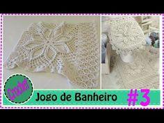 Jogo de Banheiro em Crochet com Barbante #3