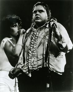 Singing the Paradise By The Dashboard Light duet in 1978, with tour singer Karla DeVito.