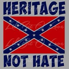 NOT HATE - HERITAGE!