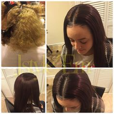 Custom color  Sewin  Diverse stylist   Instagram jstyle_em Facebook Jstyle'Em