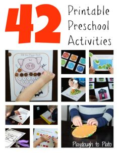 The Ultimate Preschool Activity Pack - Playdough To Plato
