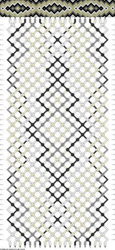 Muster # 54526, Streicher: 20 Zeilen: 44 Farben: 4