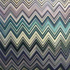 Missoni Jarris Fabric #150 via Safari Living #fabric #cotton #blue