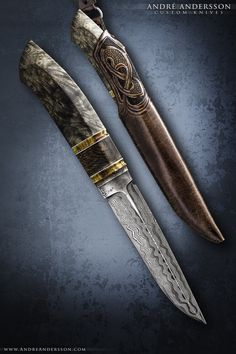 Work from 2015 | André Andersson Custom Knives - null
