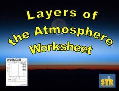 Teaching about the layers of the atmosphere? Want students to see the reason behind the layers? This printable, reproducible worksheet can help! $