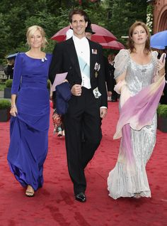 Prince Pavlos of Greece, Princess Marie-Chantal, Princess Alexia Morales