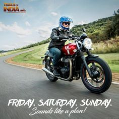 Weekend fun begins with an exciting biking trip! Where are you heading to this weekend?  Explore a tankful of unforgogettable journeys here - https://www.trailsofindia.com/motorcycle-trails/  #WeekendBikeTrips