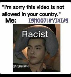 """""""Nous sommes désolés, cette vidéo n'est pas autorisée dans votre pays"""