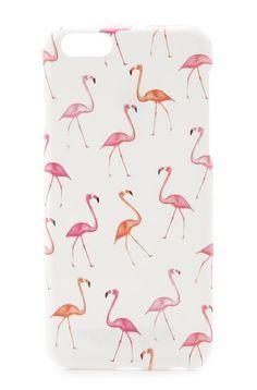 Flamingo Print iPhone Case