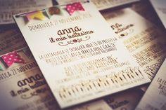 wood invitations, washi tape